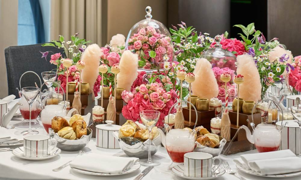 Indulge in a private Afternoon Tea