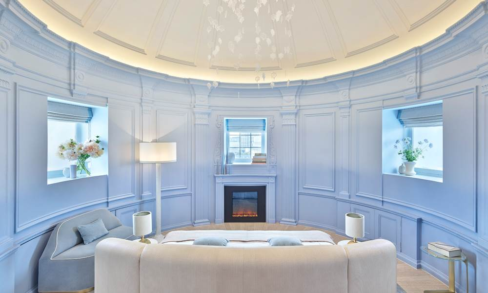 Reside beneath the iconic copper cupola and experience rooftop views in the exquisite Dome Suite.