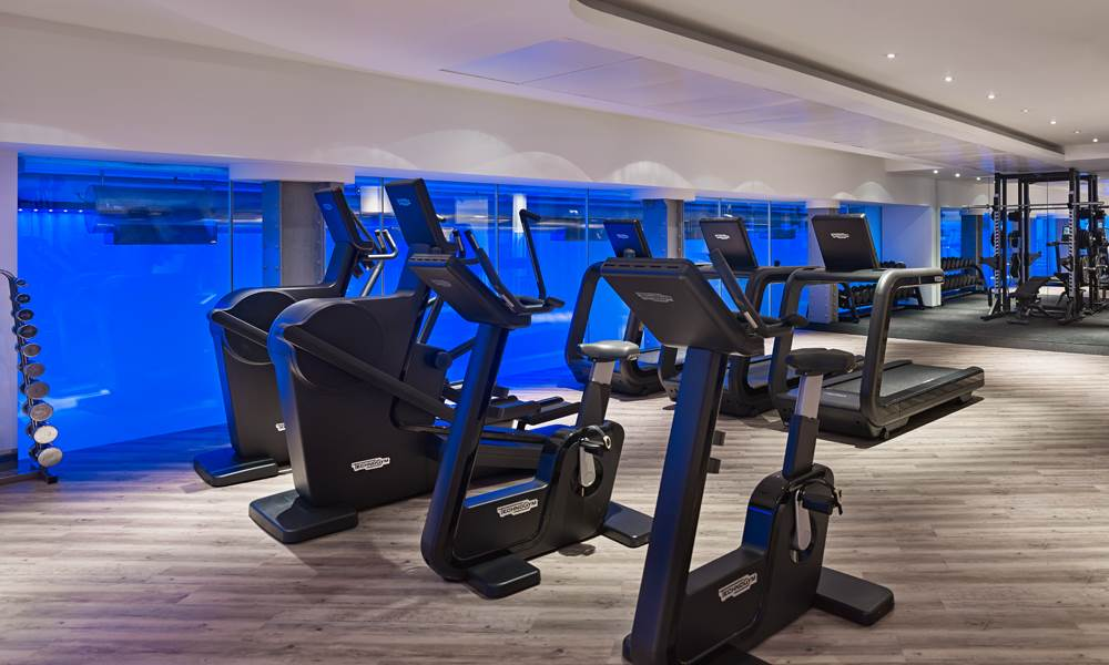 Work out in our large state-of-the-art gym
