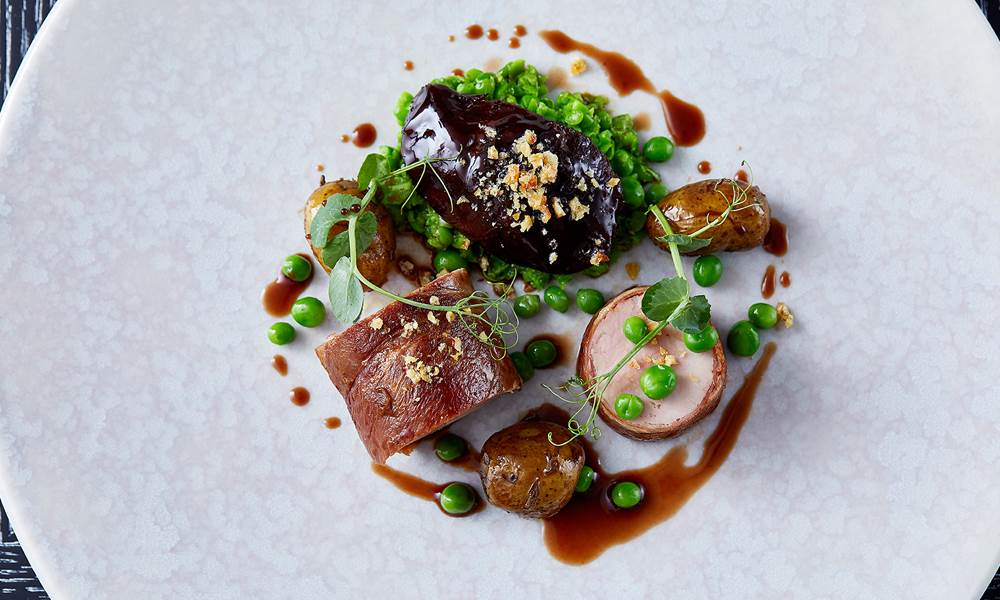 Indigo serves up exceptional, seasonal, modern British cuisine – all without gluten or dairy.