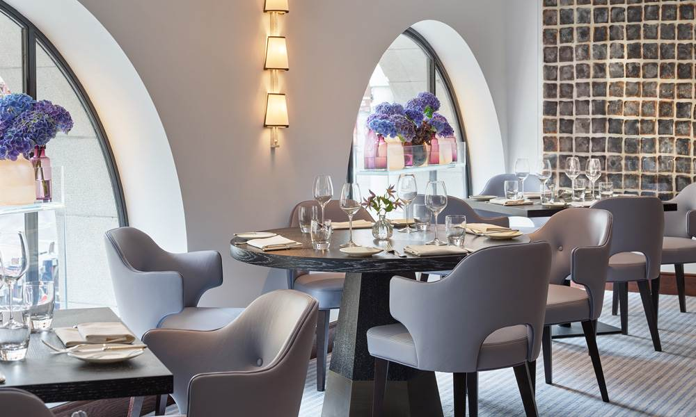Indigo at One Aldwych - a chic space that pays homage to its name