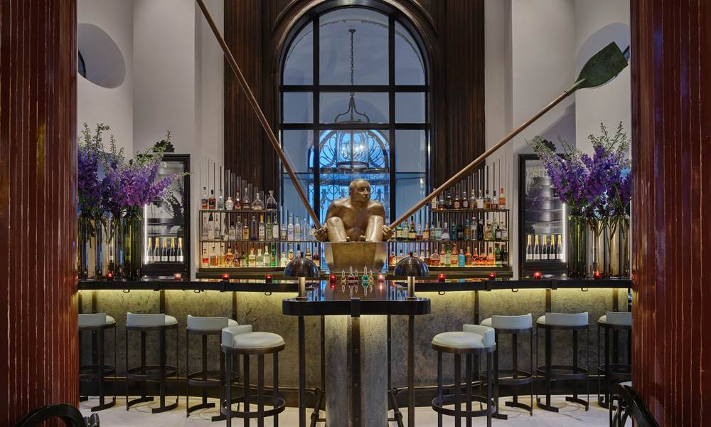 The Lobby Bar at One Aldwych is a London institution – a dynamic Covent Garden drinking destination