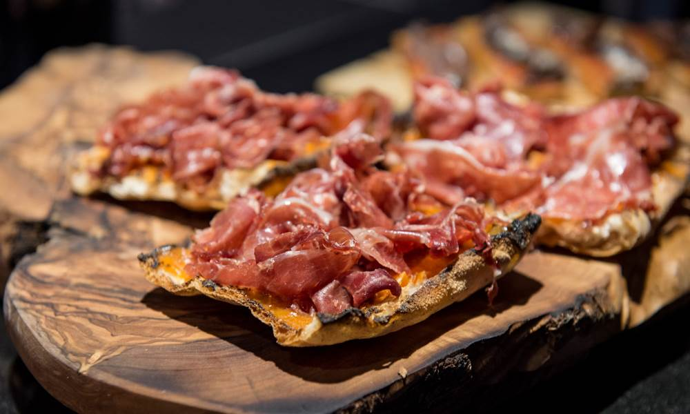 Pop in for Pintxos in the trendy bar at Eneko Basque Kitchen & Bar