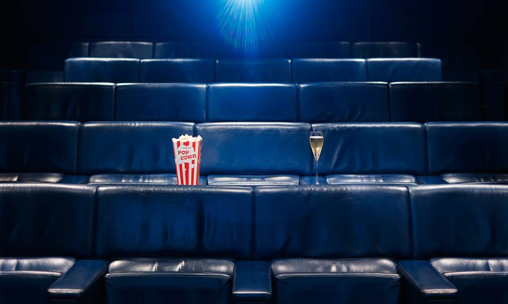 Enjoy a film screening in our 30-seat private cinema