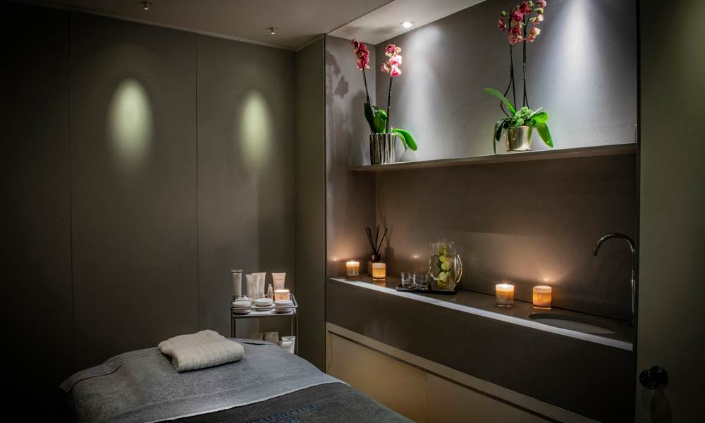 Drift away in one of the three spa treatment rooms