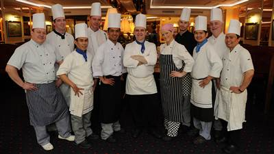 Chefs team at Park House 4 star hotel in Galway city