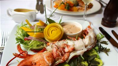 Seafood Restaurant at Park House, hotel in Gaway city