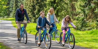 Powerscourt Family Bicycle Ride