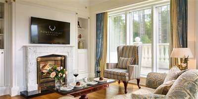 Powerscourt Suite Living Are