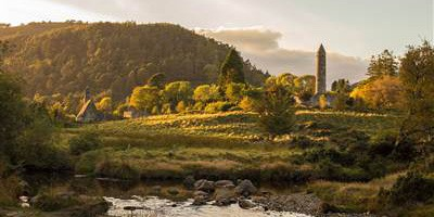 Sunrise at Glendalough