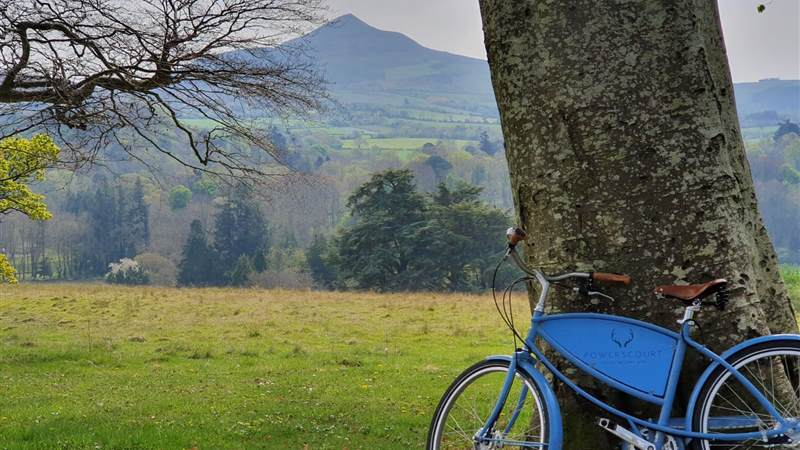 cycling at powerscourt estate