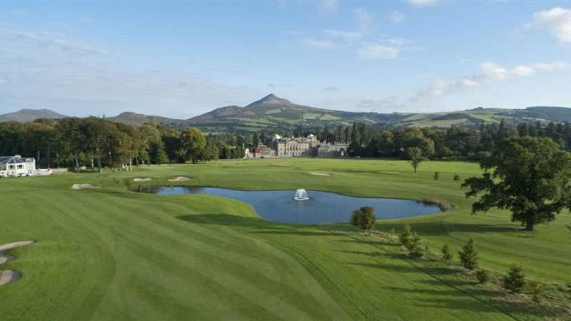 Evening Sun Powerscourt Golf Club