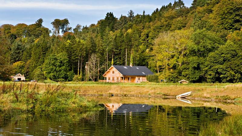 Fly Fishing Cabin Wicklow