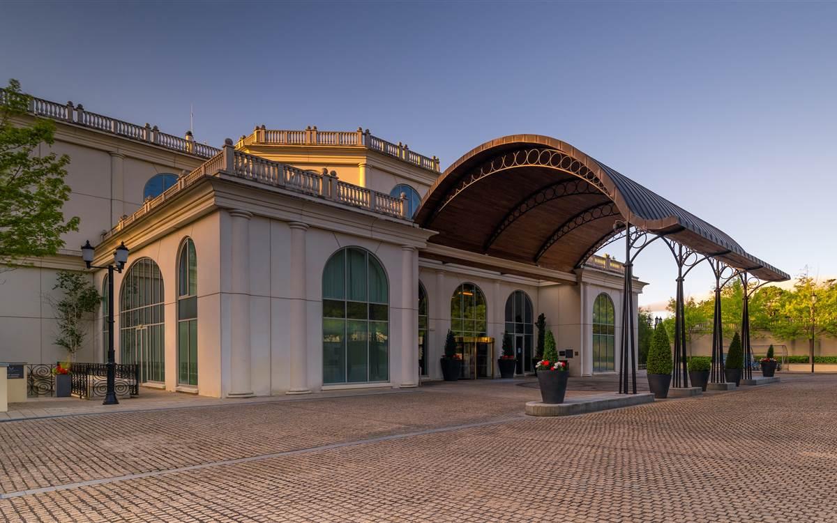 Powerscourt Hotel Entrance