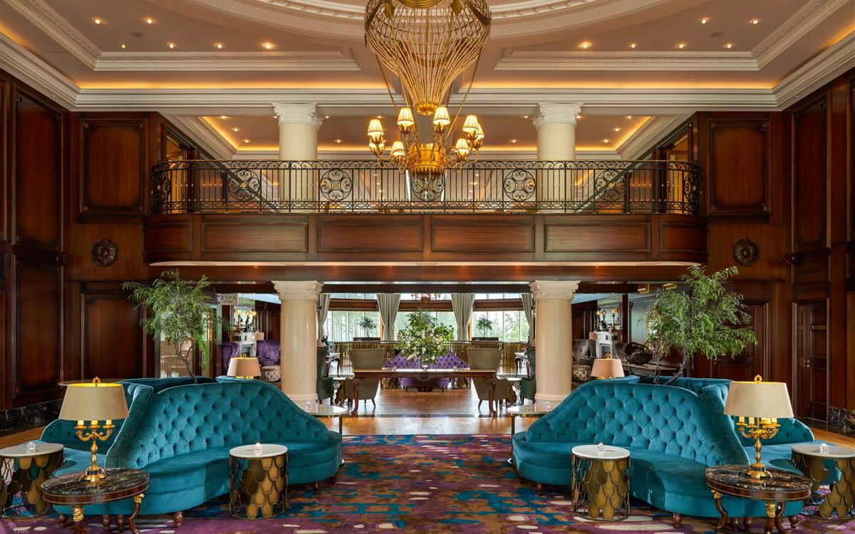 Powerscourt Hotel Lobby