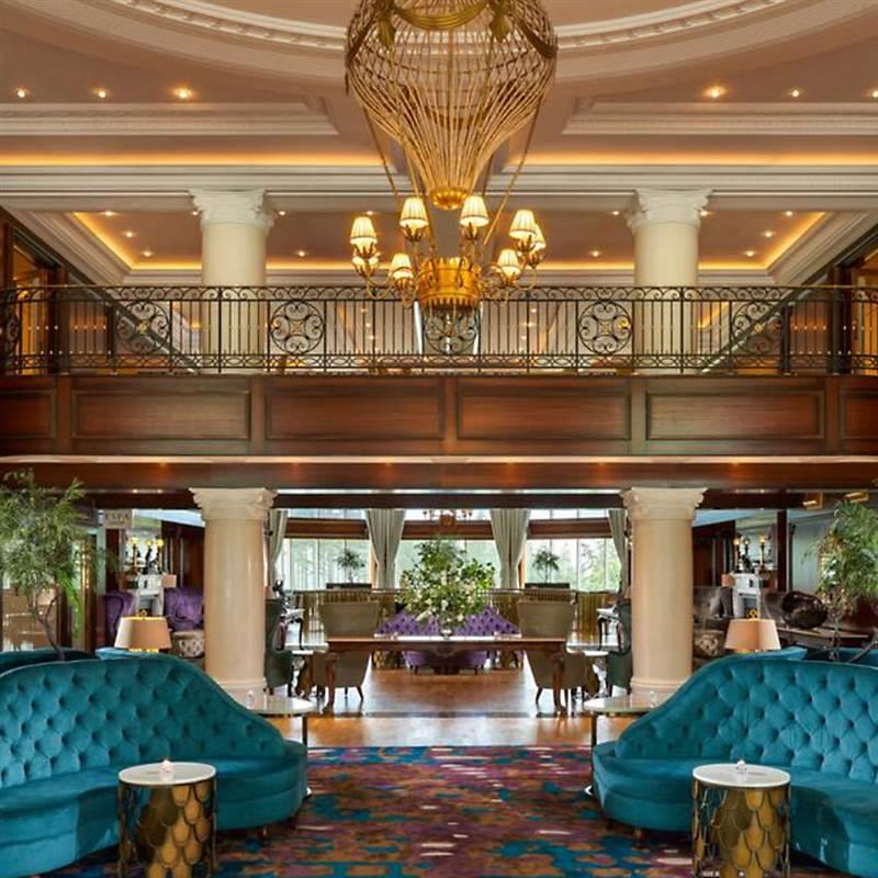Powerscourt Hotel Lounge