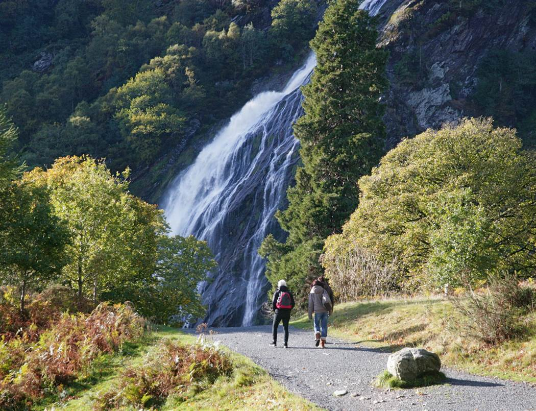 Powerscourt Waterfall   web
