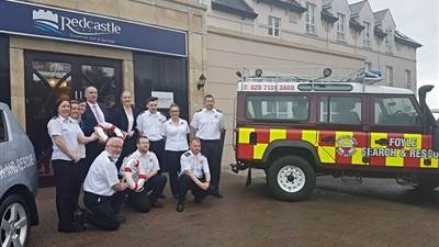 The Redcastle Hotel has named Foyle Search & Rescue as their new charity partner of the year