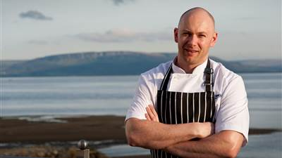 Head Chef Gordon Smyth presents the new Autumn/Winter Menu of The Edge Restaurant