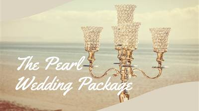 The Pearl Wedding Package is all you need on your big day