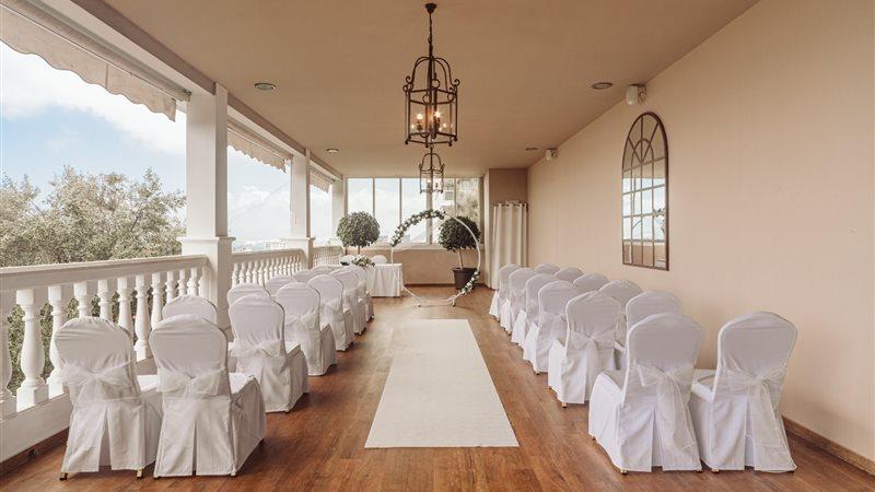 Rock Hotel Wedding setup2