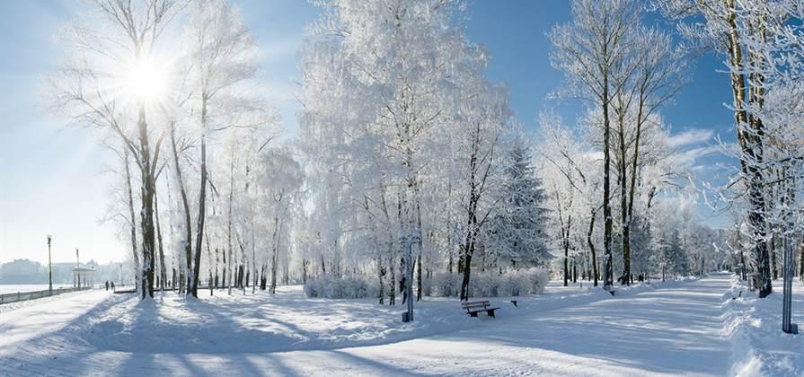 bigstock Beautiful winter landscape wit