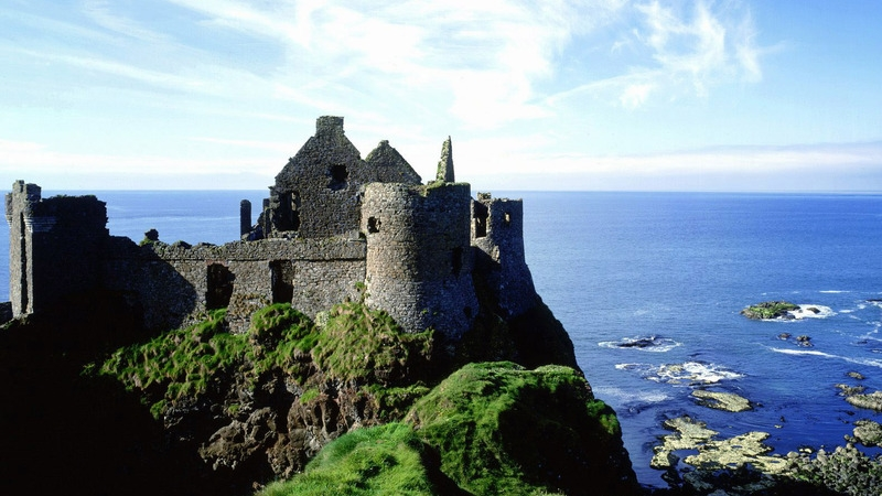 Dunluce Castle Top