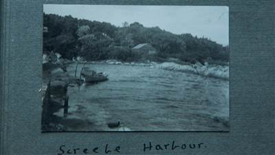 Screebe Harbour 1926