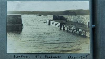 Screebe Harbour 1925