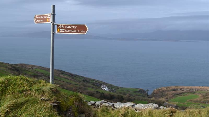 Goats Path on Sheeps Head - Seaview House Hotel
