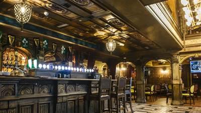 The Skeff Bar interior