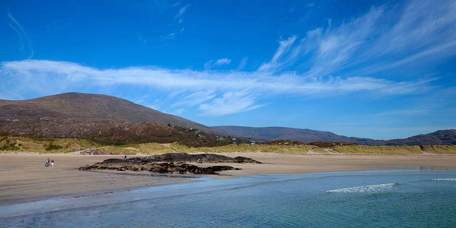 Derrynane Beach at Sneem 4 star hotel