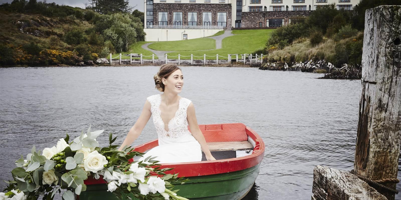 Sneem Bride Boat