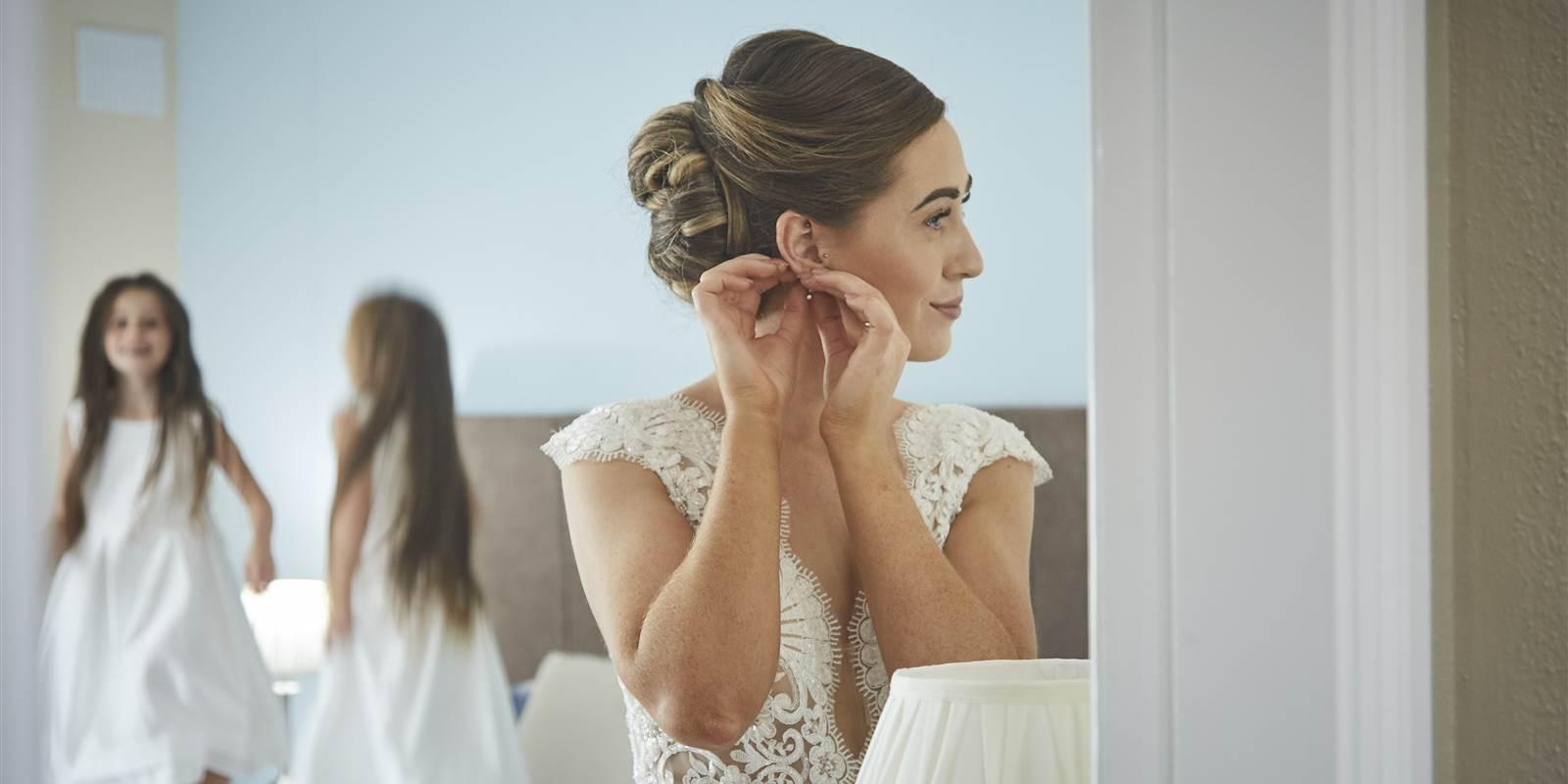 Sneem Hotel Bride