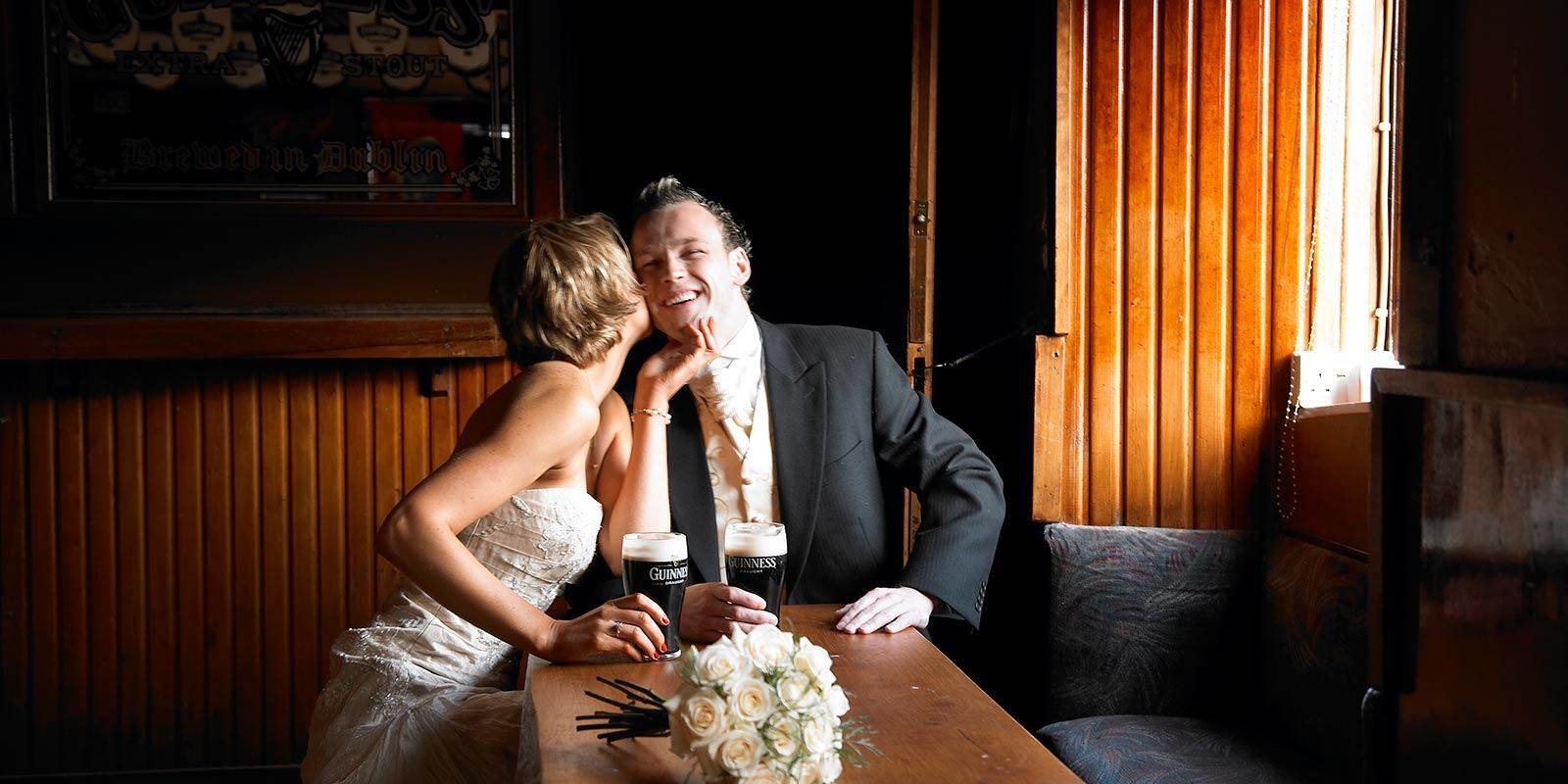 Bride and Groom Bar