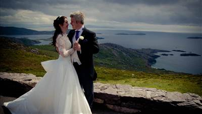 Sneem Wedding Couple