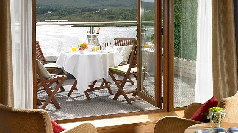 Hotels with Balconies Ireland From €140 per room  at Sneem 4 star Hotel in Kerry.