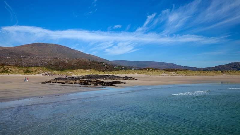 Beach at Derrynane House