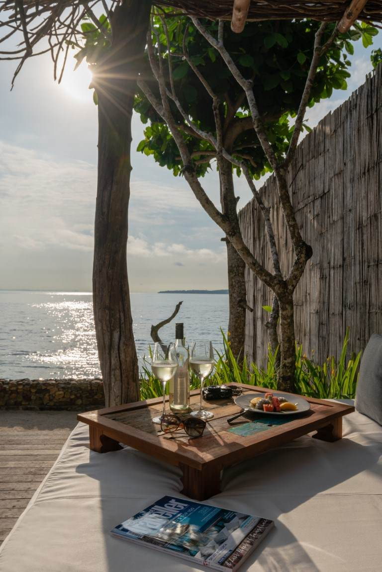 daybed at Ocean View Villa