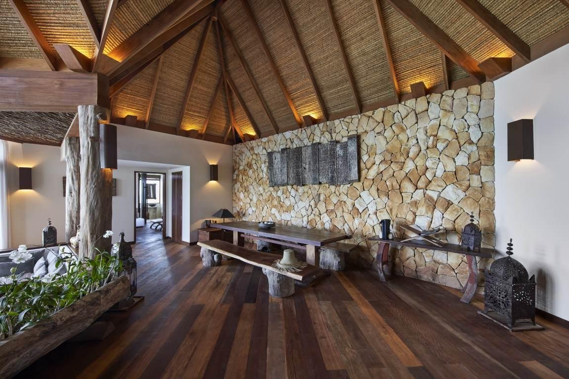 Living area in Royal Villa
