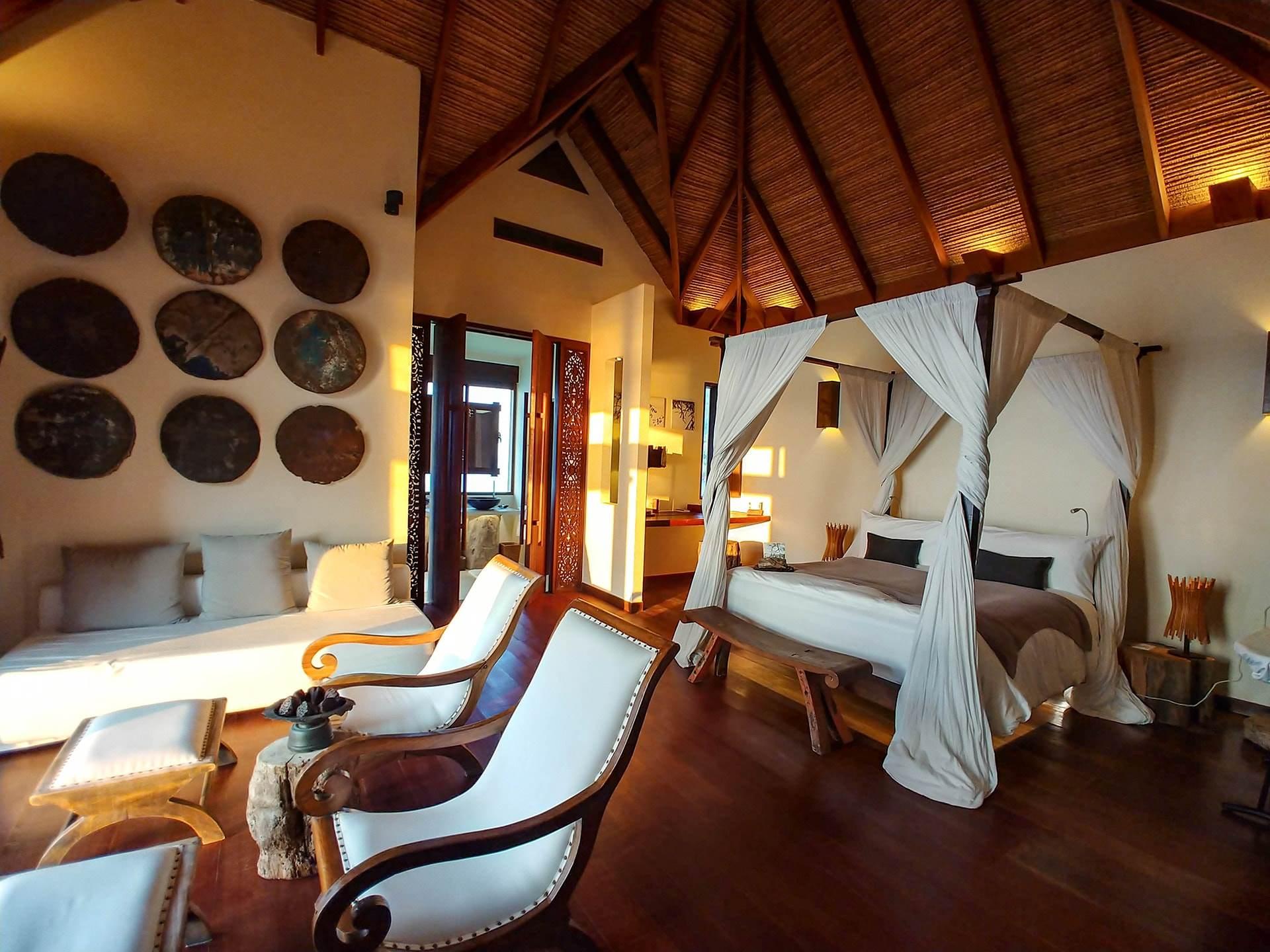 Bedroom Setup in Royal Villa
