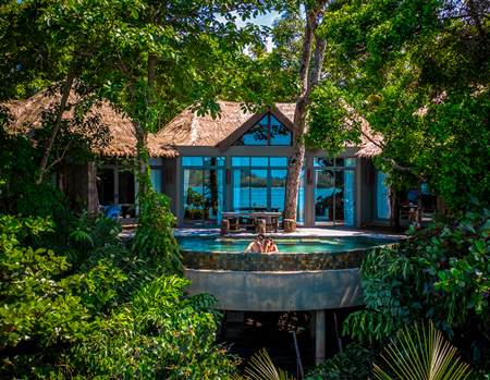 Ryan Doyle two bedroom Jungle villa dron