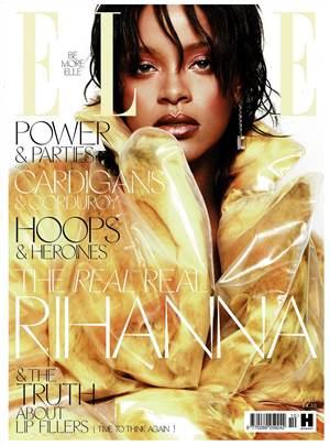 Elle (October 2017) cover