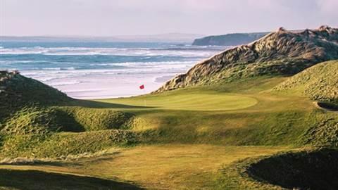 Ballybunion golf course as seen by - Jacob Sjoman Svensson