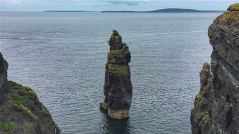 Visit Bromore Cliffs in Ballybunion