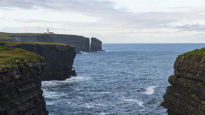 Lighthouse at Loop Head