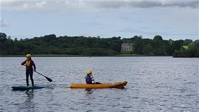 Templehouse Lake SUP Kayaking