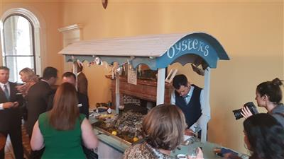 Weddings - Oyster Cart available
