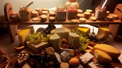 Cheese Board for the Wedding Party