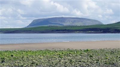 Knocknarea from Aughris Head